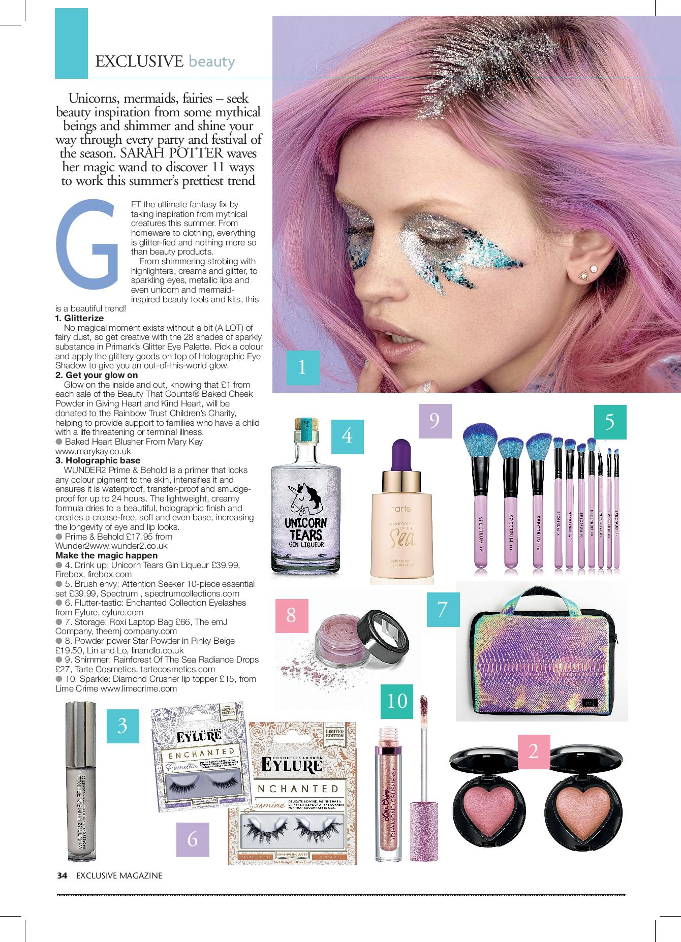 The Enchanted Beauty Trend | Exclusive Magazine Article